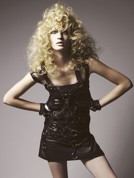 London Hairdresser of the Year finalist Cos Sakkas