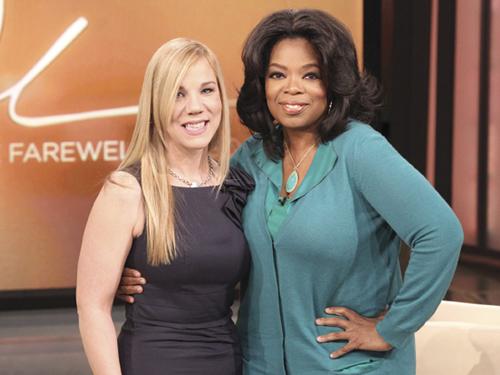 Trina Marr and Oprah