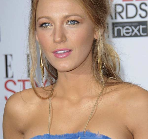 Blake Lively Holiday Hair 2011