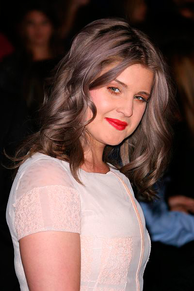 Kelly Osbourne died her hair grey for the People's Choice awards in 2012.