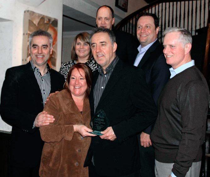 Valentino's wins Carnegire brothers business award 2012