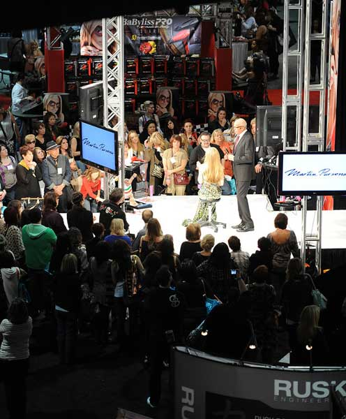 40,000 beauty pros went to ISSE Long Beach 2012 8