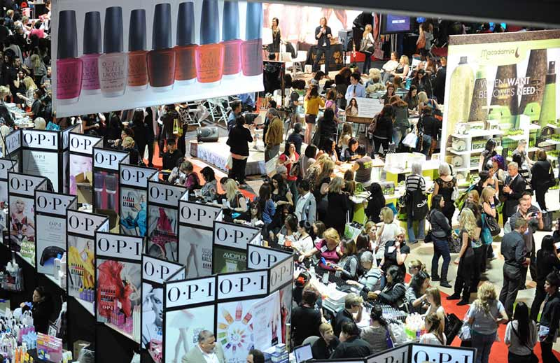 40,000 beauty pros went to ISSE Long Beach 2012 9