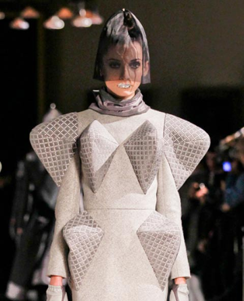 Thom Browne did Silver Leaf Lips at New York Fashion Week