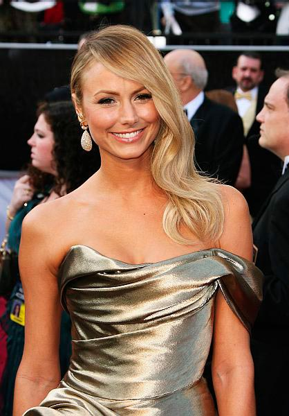 Best oscars hair 2012 Stacy Keibler