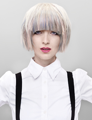 Pastel hair colour will be hot for Spring 2012 1