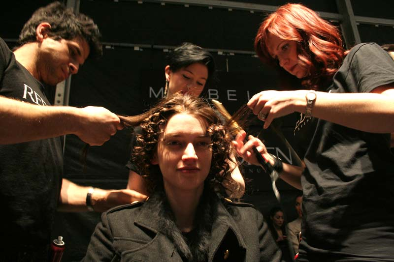 Hair & Nails Behind-the-Scenes at Toronto's World MasterCard Fashion Week 2