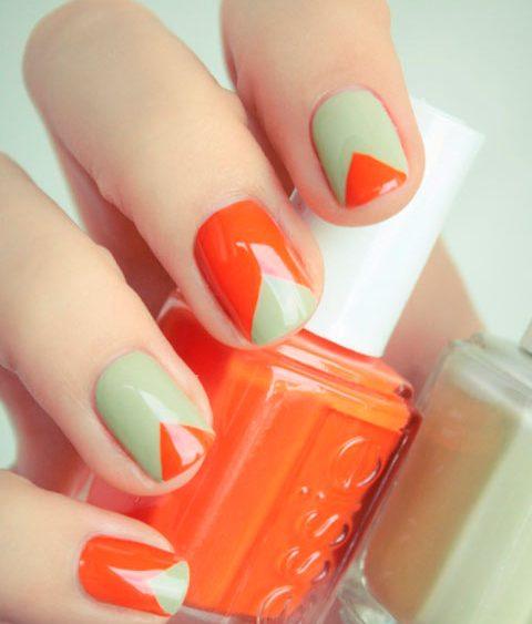 12 04 orangenails essie triangles