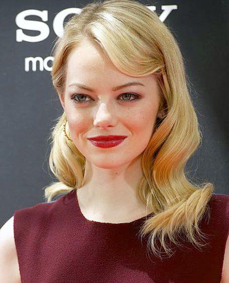 12 06 emma stone hair news 2012 blonde red