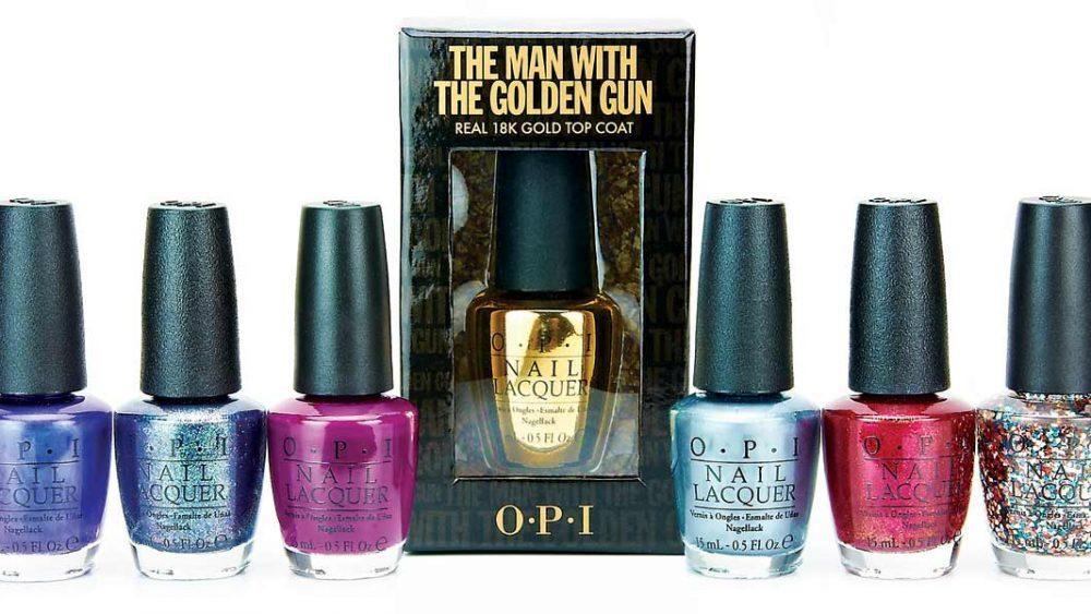 12 09 bond movie opi collection nails golden gun 1