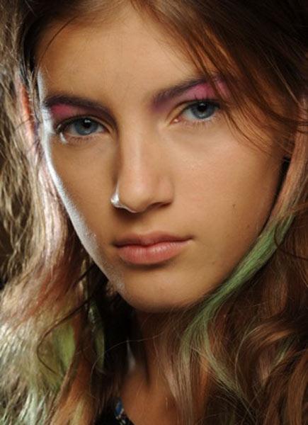 12 09 fashion week spring summer ss 2012 hair colour trends 1
