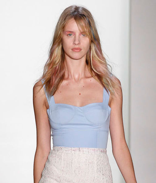 12 09 fashion week spring summer ss 2012 hair colour trends 2