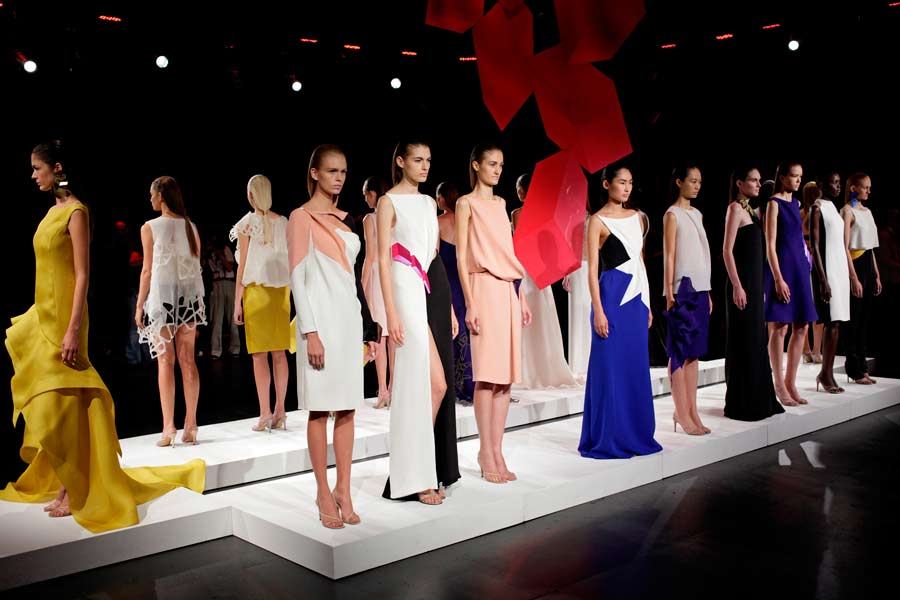 12 09 kevinmurphy david glover NYFW runway hair trends 2013 spring 1