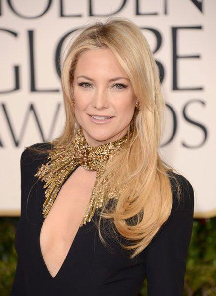 13 01 Kate Hudson 70 Golden Globes hair
