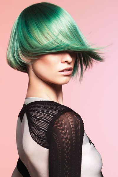 13 02 spring hair colour trend emerald green pantone
