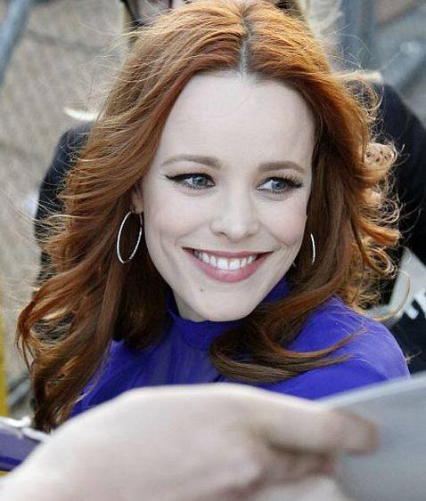 13 04 celebrity hair news red hair rachel mcadams megan fox
