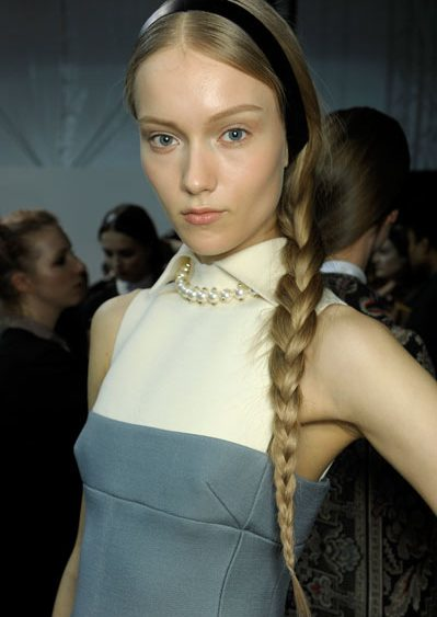 13 06 jorge diamondoil how to Fashion week hair fall 1
