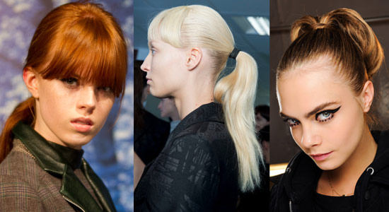 13 08 pony tails fall 2013 hair trends 3
