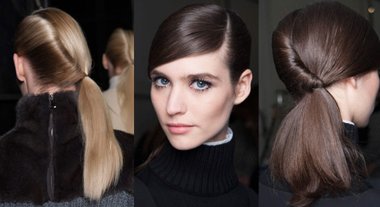 13 08 pony tails fall 2013 hair trends 4