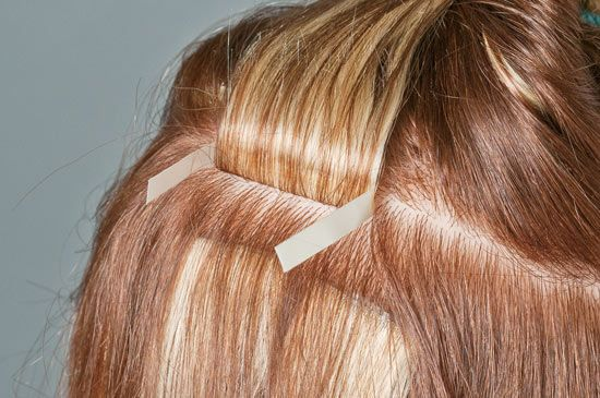 simplicty hair extensions application steps how to 3