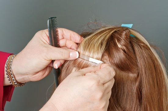 simplicty hair extensions application steps how to 5