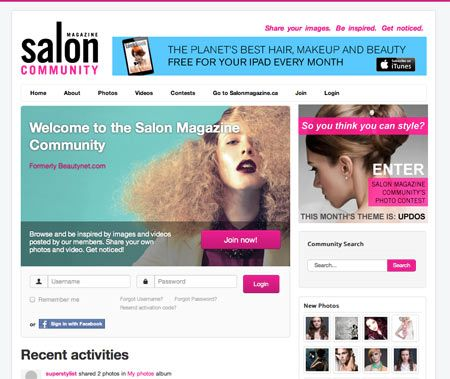 13 11 salon community story website beauty photos