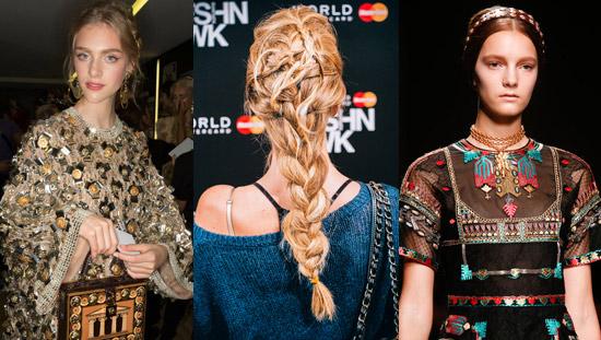 14 01 fashion week beauty trends colour hair 2