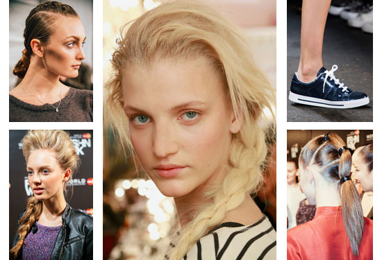 14 01 spring hair trends ss runway fw 2014 braids