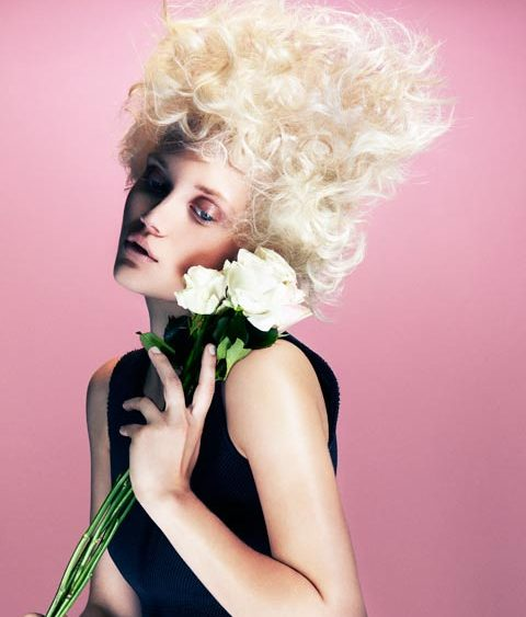 14 02 ISHOKA flowers texture hair 1