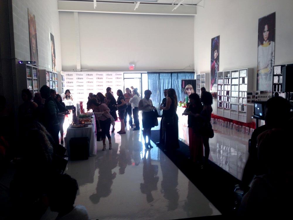 Milano Academy opening Framesi