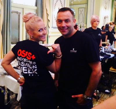 NYFW osis skp backstage hair 0