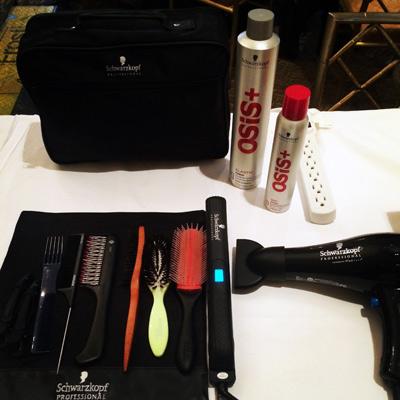 NYFW osis skp backstage hair 1