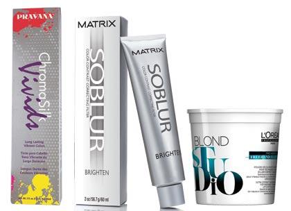 black hair colour products