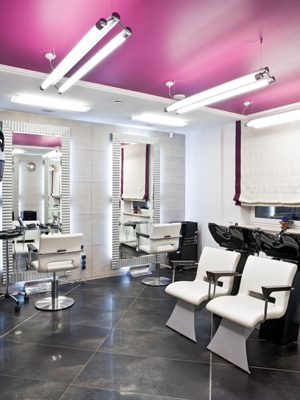 glamourous salon services