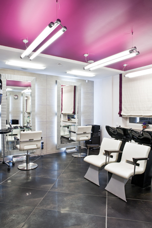 glamourous salon services