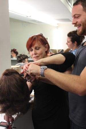 sharon blaine hair styling educator