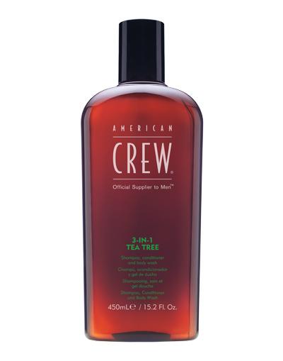 american crew tea tree