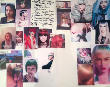 create a mood board for photo shoot