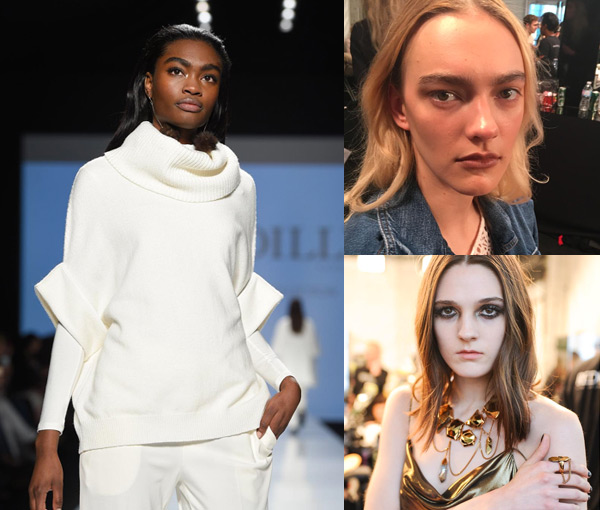 lived in hair trend toronto fashion week