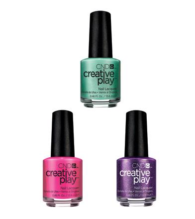 Creative play nail polish.