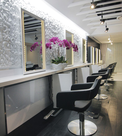 creating a luxurious salon experience