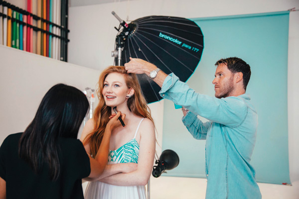 kevin hughes moroccanoil shoot