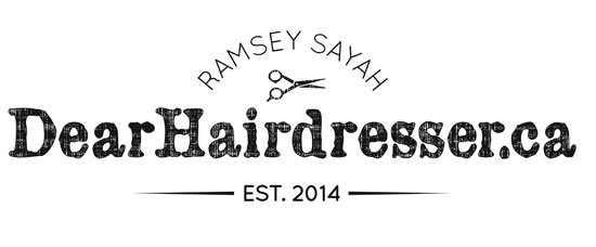 Ramsey Sayah dear hairdresser website