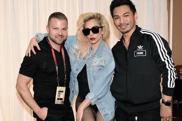 Lady Gaga and Matrix Super Bowl Hair How-To