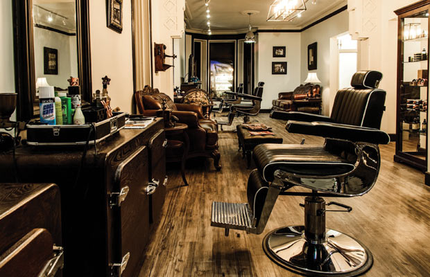 cotch and Scissors barbershop interior