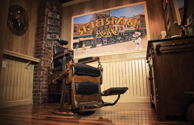Best of Seven Barbers barbershop interiors