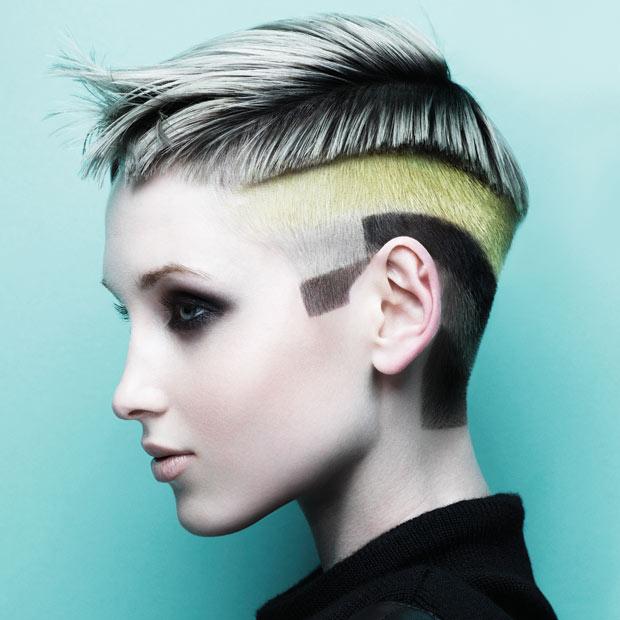Graffiti hair trend