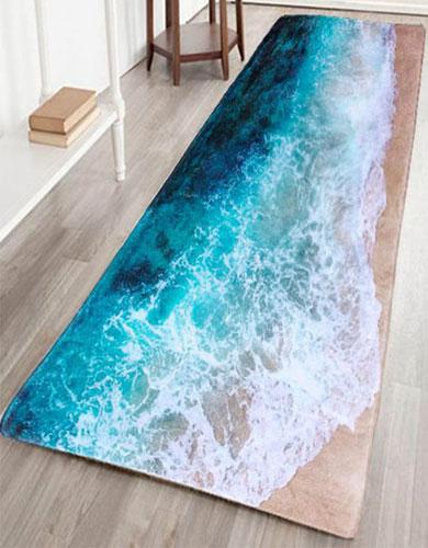Unique Salon Decor Ideas Beach Mat