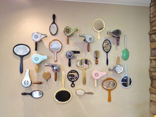 Unique Salon Decor Ideas Gallery Wall