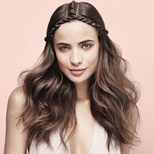 Festival Hair Trends - Centre Rope Braid with Moroccanoil